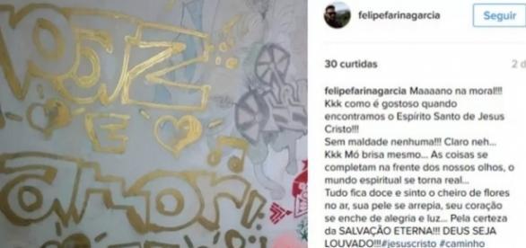 Jovem postou uma massagem sobre paz e religião antes de matar a mãe