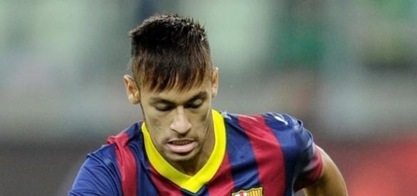 Neymar, atacante do Barcelona da Espanha.