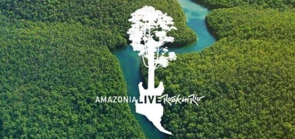 Os shows acontecerão em um palco flutuante nas águas do Rio Negro.