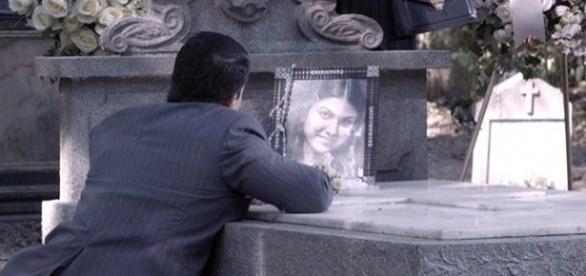 Osório no enterro de Gerusa em 'Êta Mundo Bom!' (Divulgação/Globo)