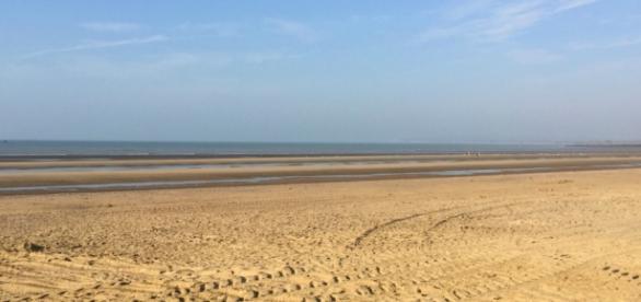 Praia estava lotada quando tudo aconteceu