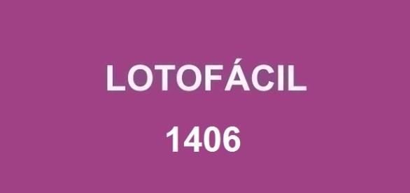 Prêmio da Lotofácil 1406 estimado em R$ 1,7 milhão