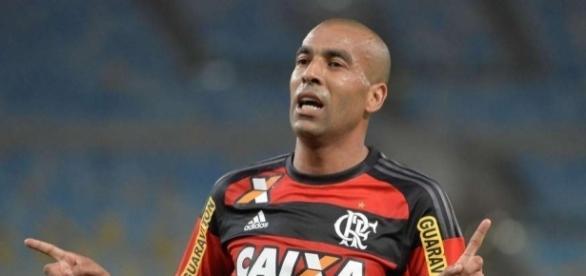 Emerson Sheik, atacante do Flamengo.