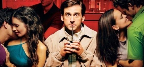 """Jim contou que seu vicio o fez esquecer sua vida real (Foto de divulgação do filme """"O Virgem de 40 anos"""")"""