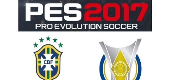 PES 2017 virá com Brasileirão Licenciado