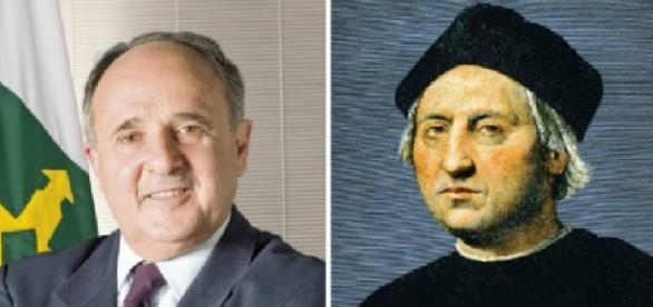 Cristovam Buarque vira Cristóvão Colombo