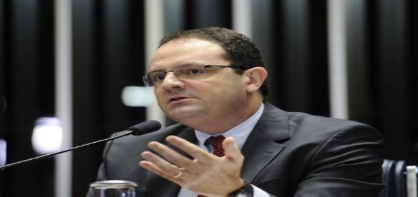 Ex-ministro Nelson Barbosa foi um dos depoentes da defesa / Foto: Edilson Rodrigues/Agência Senado