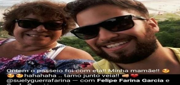 Felipe mata e esquarteja a mãe, depois de um surto psicótico. (Foto: Reprodução/Facebook)