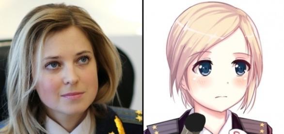 Procurorul Șef din Crimea Natalia Poklonskaya ar putea fi următorul președinte al Rusiei - Foto: rt.com