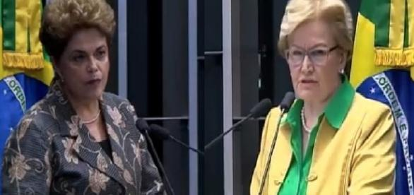 Ana Amélia deixa Dilma calada e sem resposta