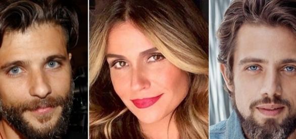 Bruno Gagliasso, Giovanna Antonelli e Rafael Cardoso formam o triângulo amoroso de Sol Nascente.