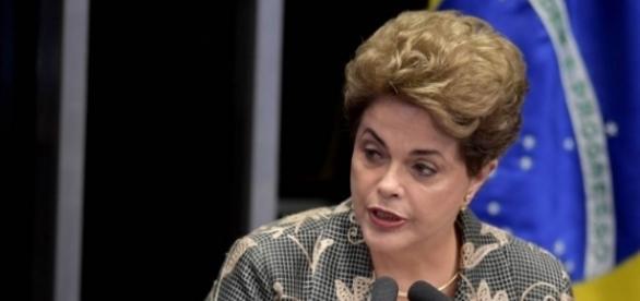 Dilma se defendeu no Senado Federal