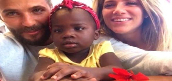 Filha de Bruno Gagliasso e Giovanna Ewbank com os pais