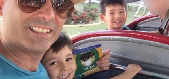 Nador e os dois filhos encontrados mortos