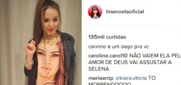 Atriz do SBT avisa que abrirá show de Selena