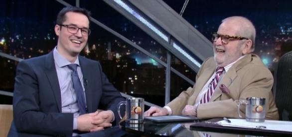 Deltan Dallagnol em entrevista ao programa do Jô