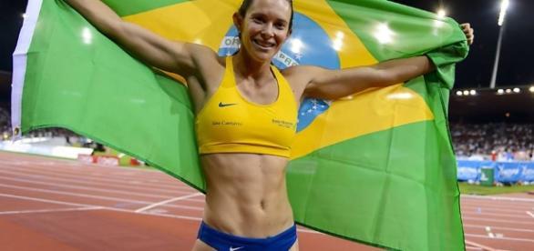 Fabiana Murer é uma das principais apostas brasileiras