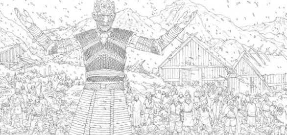 'Game of Thrones - coloring book' será lançado em novembro