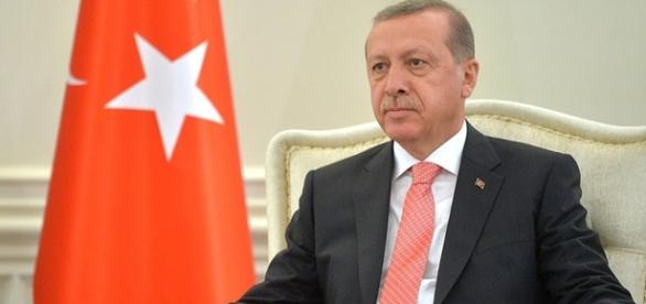 Il presidente della Turchia, Recep Tayyip Erdogan