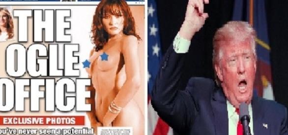Imagens da esposa de Trump nua.