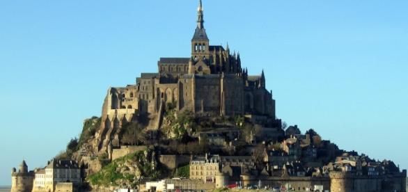 Le Mont-Saint-Michel, mirage sur l'eau !