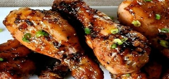 Pollo grille al estilo Thai con arroz frito Pinterest