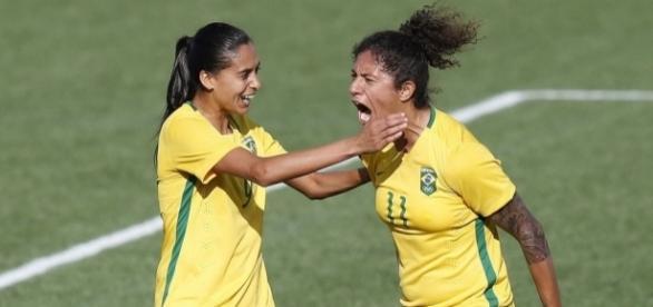 Quarta-feira já tem Brasil em campo