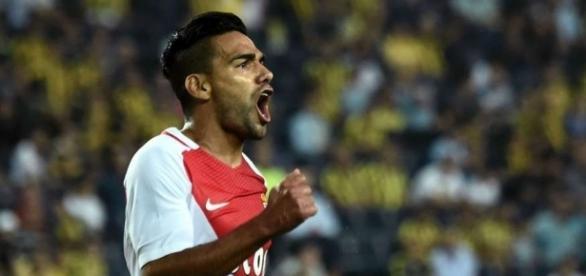 Radamel Falcao Monaco vs Fenerbahçe Champions League - Goal.com - goal.com