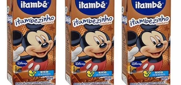 Achocolatado Itambezinho, da marca Itambé