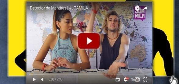 Camila y Joaquín en su canal de youtube