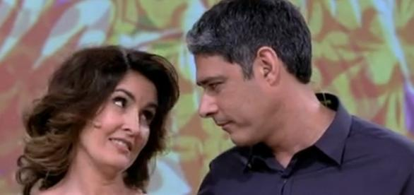 Fátima e Bonner anunciaram divórcio pela internet