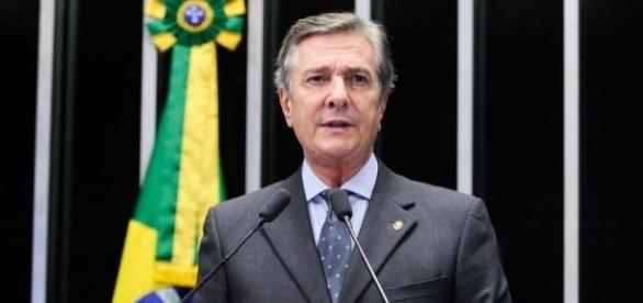 Fernando Collor de Mello criticou Dilma em discurso