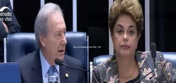 Lewandowski pediu que Dilma não falasse do governo interino