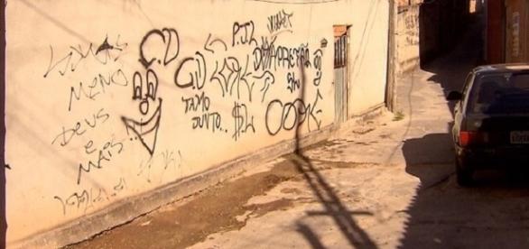 Local onde ocorreu a chacina em Betim