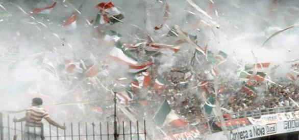 Pó-de-arroz, um dos símbolos históricos do Fluminense, estará presente na quarta, em Édson Passos (Foto: Explosão Tricolor)