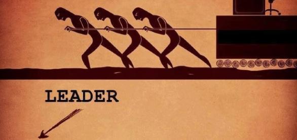 Promovarea,Leadership, sef si lider