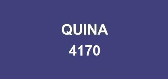Resultado da Quina 4170 sorteou prêmio de R$ 4,5 milhões