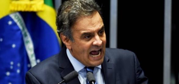 Senador Aécio Neves é ameaçado de morte