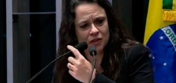 Advogada de acusação, Janaína Paschoal (Foto: Reprodução)