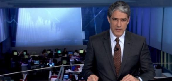 Bonner faz Jornal Nacional sem aliança