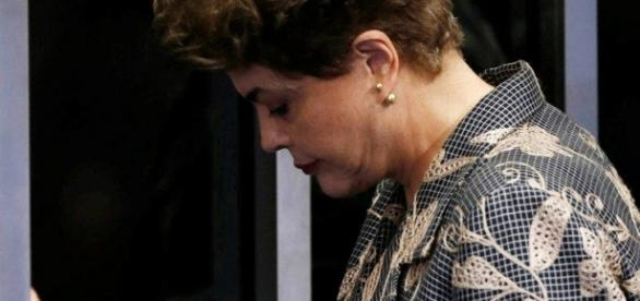 Dilma Rousseff sofre o impeachment (Foto: Reuters)