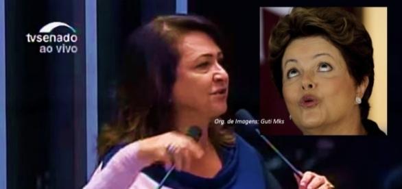 Kátia Abreu anunciou aposentadoria de Dilma