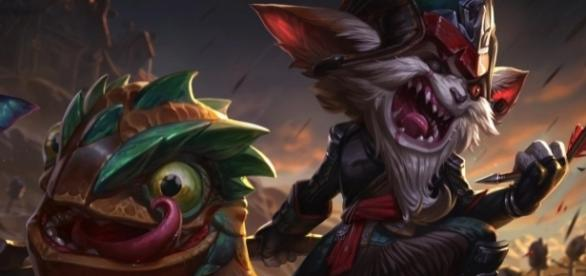 Kled, campeón de League of Legends.