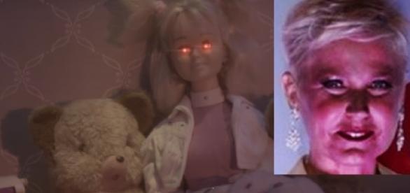 Boneca da Xuxa aparece possuída