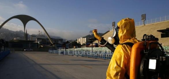 Fumigan el Sambódromo de Rio de Janeiro para evitar brotes de zika ... - ellitoral.com