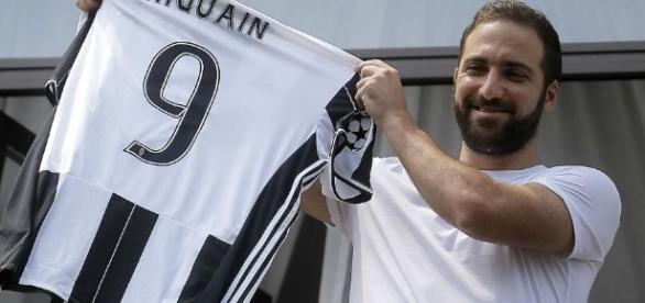 Gonzalo Higuaín llega a la Juventus. Foto: Diario LA NACIÓN (online)