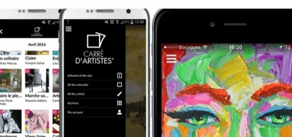 Smartphone : L'art contemporain s'invite dans notre quotidien