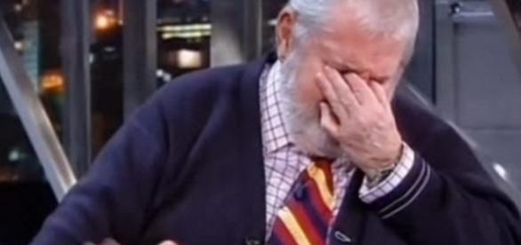 Jô Soares chora em programa - Foto/Reprodução