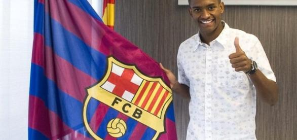 Marlon es uno de los nuevos fichajes del Barça B