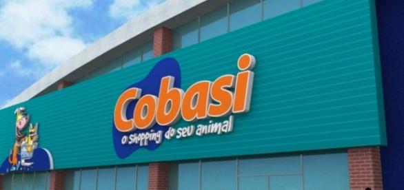Modelo de fachada do Pet Shop Cobasi